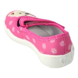 Befado obuwie dziecięce  114X456 różowe 2