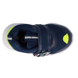 Befado obuwie dziecięce  516P094 granatowe zielone 1