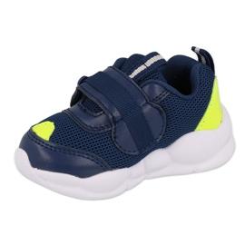Befado obuwie dziecięce  516P094 granatowe zielone 2
