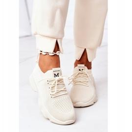 PS1 Damskie Sportowe Buty Sneakersy Beżowe Fashion beżowy 3
