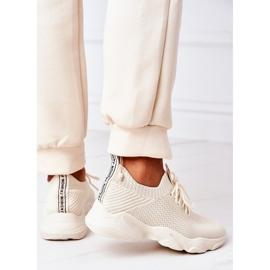 PS1 Damskie Sportowe Buty Sneakersy Beżowe Fashion beżowy 1