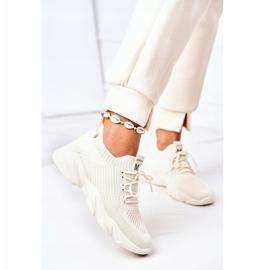 PS1 Damskie Sportowe Buty Sneakersy Beżowe Fashion beżowy 2