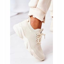 PS1 Damskie Sportowe Buty Sneakersy Beżowe Fashion beżowy 6