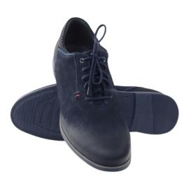 Riko buty męskie półbuty casual 799 granatowe 3