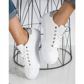 SHELOVET Casualowe Buty Sportowe białe 3