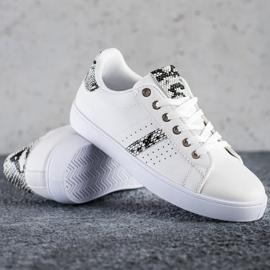 SHELOVET Casualowe Buty Sportowe białe 1