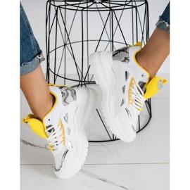 Marquiz Sneakersy Fashion białe 3