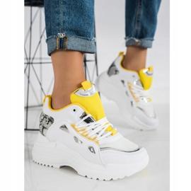Marquiz Sneakersy Fashion białe 2