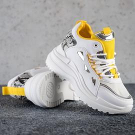Marquiz Sneakersy Fashion białe 1