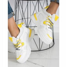 SHELOVET Białe Sneakersy Fashion 2