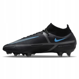 Buty piłkarskie Nike Phantom GT2 Elite Df Fg M CZ9889-004 czarne czarne 1