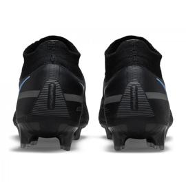 Buty piłkarskie Nike Phantom GT2 Elite Df Fg M CZ9889-004 czarne czarne 4