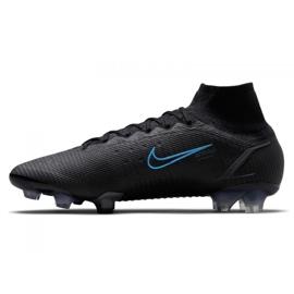 Buty piłkarskie Nike Superfly 8 Elite Fg M CV0958-004 czarne czarne 1