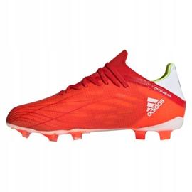 Buty piłkarskie adidas X Speedflow.1 Fg Jr FY3284 czerwone czerwone 1