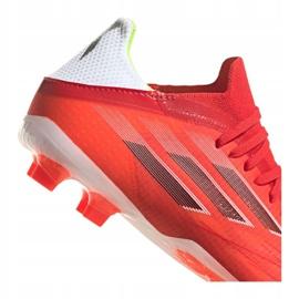 Buty piłkarskie adidas X Speedflow.1 Fg Jr FY3284 czerwone czerwone 2