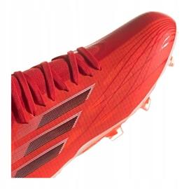 Buty piłkarskie adidas X Speedflow.1 Fg Jr FY3284 czerwone czerwone 5