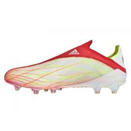 Buty piłkarskie adidas X Speedflow+ Ag M FY6872 czerwone czerwony, pomarańczowy, white 1
