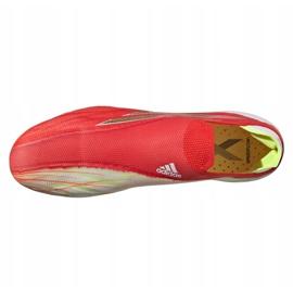 Buty piłkarskie adidas X Speedflow+ Ag M FY6872 czerwone czerwony, pomarańczowy, white 4