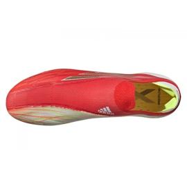 Buty piłkarskie adidas X Speedflow+ Fg M FY3338 czerwone czerwone 4