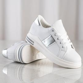 SHELOVET Stylowe Sneakersy białe 1
