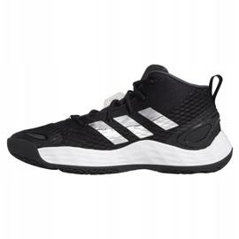 Buty do koszykówki adidas Exhibit A Mid M H67747 czarne czarne 1