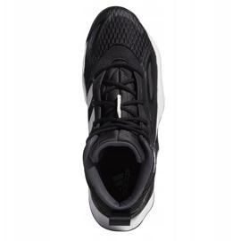 Buty do koszykówki adidas Exhibit A Mid M H67747 czarne czarne 2