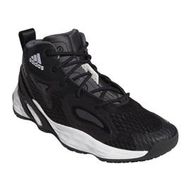 Buty do koszykówki adidas Exhibit A Mid M H67747 czarne czarne 3
