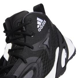 Buty do koszykówki adidas Exhibit A Mid M H67747 czarne czarne 4