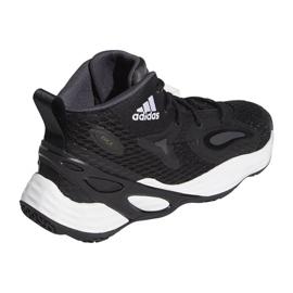 Buty do koszykówki adidas Exhibit A Mid M H67747 czarne czarne 6