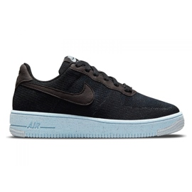 Buty Nike Air Force 1 Crater Flyknit Jr DH3375-001 czarne 3