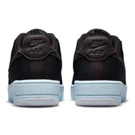Buty Nike Air Force 1 Crater Flyknit Jr DH3375-001 czarne 4