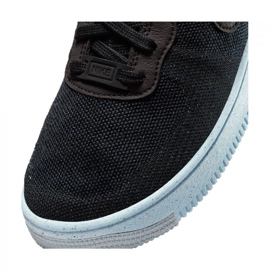 Buty Nike Air Force 1 Crater Flyknit Jr DH3375-001 czarne 5