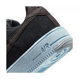 Buty Nike Air Force 1 Crater Flyknit Jr DH3375-001 czarne 6