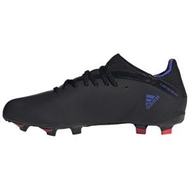 Buty piłkarskie adidas X Speedflow.3 Fg Jr FY3306 czarne czarne 1