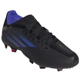 Buty piłkarskie adidas X Speedflow.3 Fg Jr FY3306 czarne czarne 3