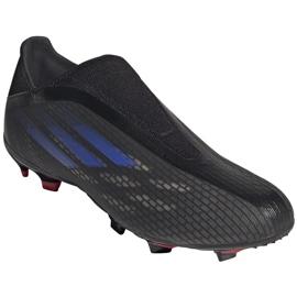 Buty piłkarskie adidas X Speedflow.3 Ll Fg M FY3273 czarne czarne 3