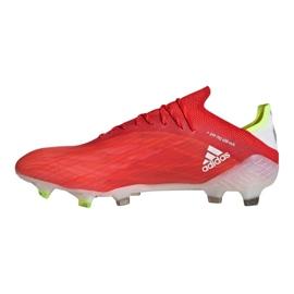 Buty adidas X Speedflow.1 Fg M FY6870 czerwone czerwone 1