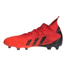 Buty adidas Predator Freak.2 Fg M S24187 wielokolorowe czerwone 1