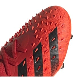 Buty adidas Predator Freak.2 Fg M S24187 wielokolorowe czerwone 5