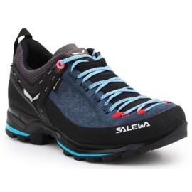 Buty trekkingowe Salewa Ws Mtn Trainer 2 Gtx W 61358-8679 czarne niebieskie 3