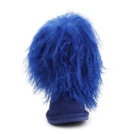 Buty BearPaw Jr 1854Y Cobalt Blue niebieskie 1
