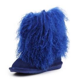 Buty BearPaw Jr 1854Y Cobalt Blue niebieskie 2