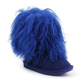 Buty BearPaw Jr 1854Y Cobalt Blue niebieskie 3