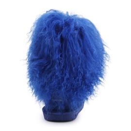 Buty BearPaw Jr 1854Y Cobalt Blue niebieskie 5