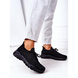 PS1 Damskie Sportowe Buty Sneakersy Czarne Ruler 1