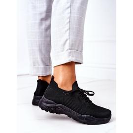 PS1 Damskie Sportowe Buty Sneakersy Czarne Ruler 2