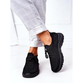 PS1 Damskie Sportowe Buty Sneakersy Czarne Ruler 3