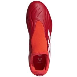 Buty piłkarskie adidas Copa Sense.3 Ll Fg Jr FY6156 czerwone czerwone 2