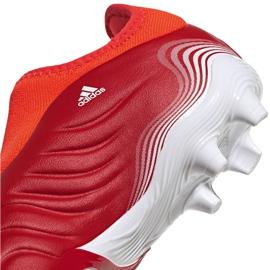 Buty piłkarskie adidas Copa Sense.3 Ll Fg Jr FY6156 czerwone czerwone 5