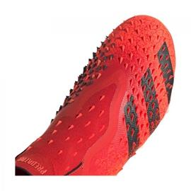 Buty piłkarskie adidas Predator Freak+ Fg M FY6238 wielokolorowe czerwone 2